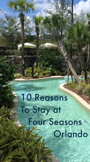 Traveling to Disney?  Make sure to check out the Four Seasons Orlando!