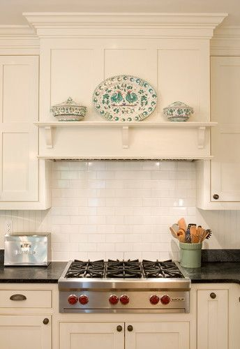 Wolfe Stovetop - traditional - kitchen - philadelphia - Lasley Brahaney Architecture + Construction