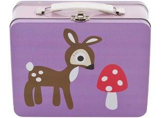 "fun purple lunchbox ""forest girl"" Sebra | Kids shop the Little Zebra"