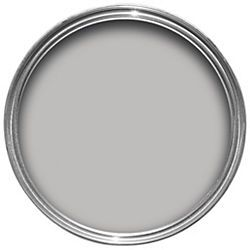Dulux - chic shadow (wall, trim and door colour with white cornices and ceiling)