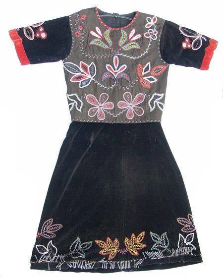 Potawatomie Beaded Blouse & Skirt - Early 1900s