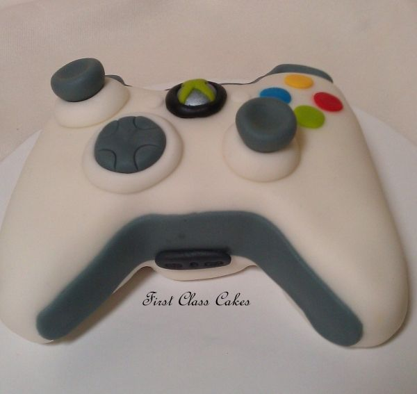 How To Make A Xbox Controller Birthday Cake