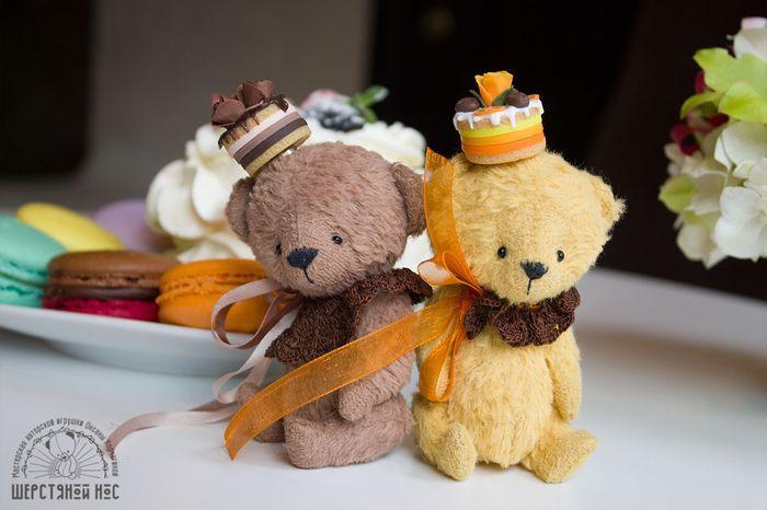 мишки Кофейный и Апельсиновый десерт