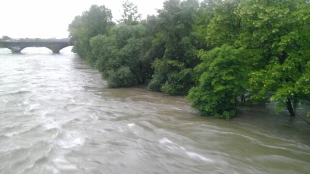 Prague, Vltava, CZ - flood 2013