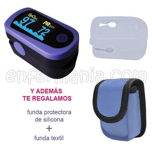Pulsioximetro Choicemmed MD300C23 – violeta - ENFERMANIA - Loc@s por la enfermería