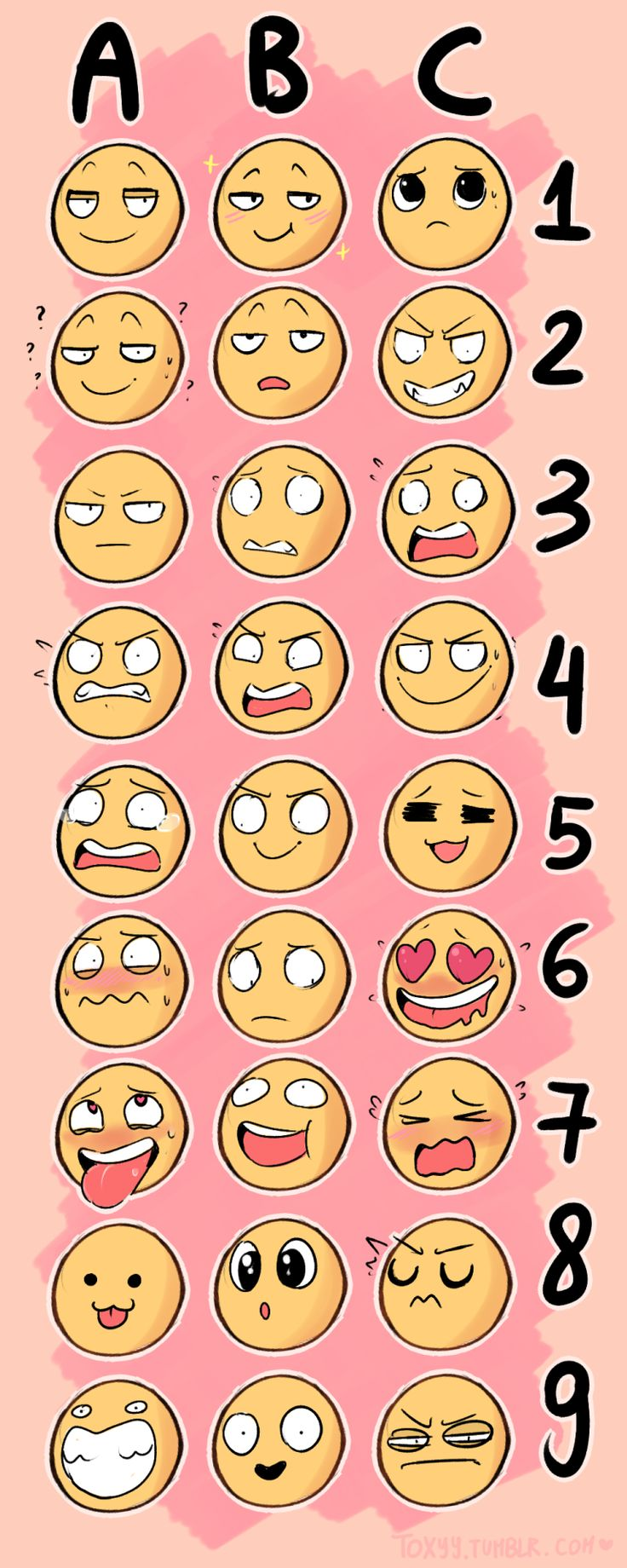 emoji   Tumblr >>> Suggest an animal and a letter/number!