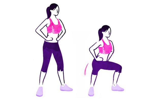 ejercicios que te permitirán tener unas piernas y gluteos perfectos : Flexiones Verticales