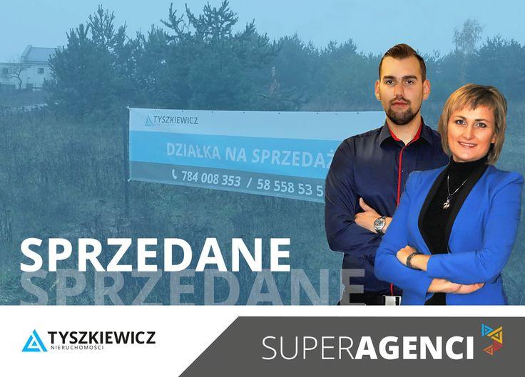 Nie było łatwo, ale oni dali radę :-) Kolejna działka inwestycyjna w pobliżu Gdańska - sprzedana! Ania z Maćkiem to przykład zgranego team'u agentów z doświadczeniem, którzy wiedzą, co znaczy udana #współpraca z klientem i między sobą - brawo Wy! :-)  Aktualne oferty z Trójmiasta i Kaszub każdego dnia znajdziesz na www.tyszkiewicz.pl