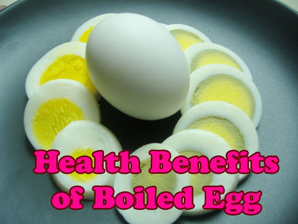 Health Benefits of Boiled Egg