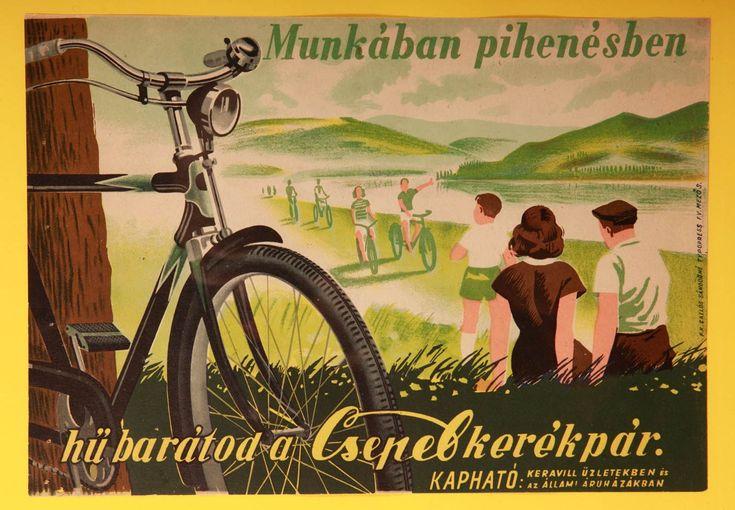 csepel bicikli plakát - Google keresés