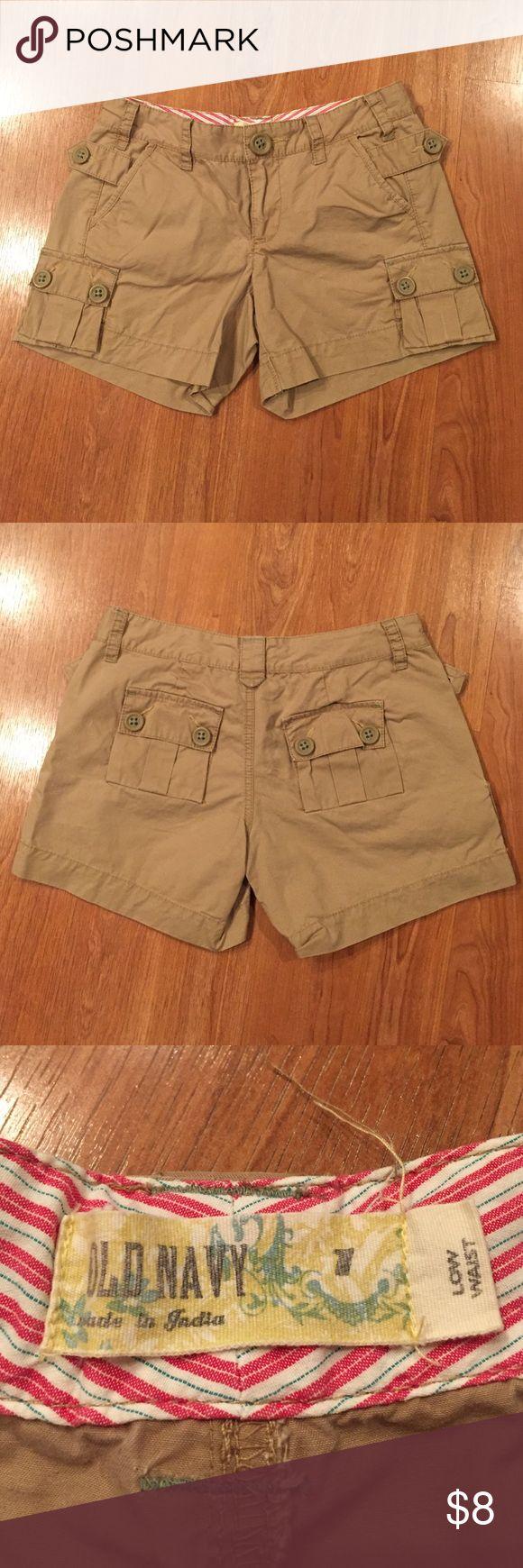 Old Navy Women's cargo shorts 100% cotton shorts Old Navy Shorts Cargos