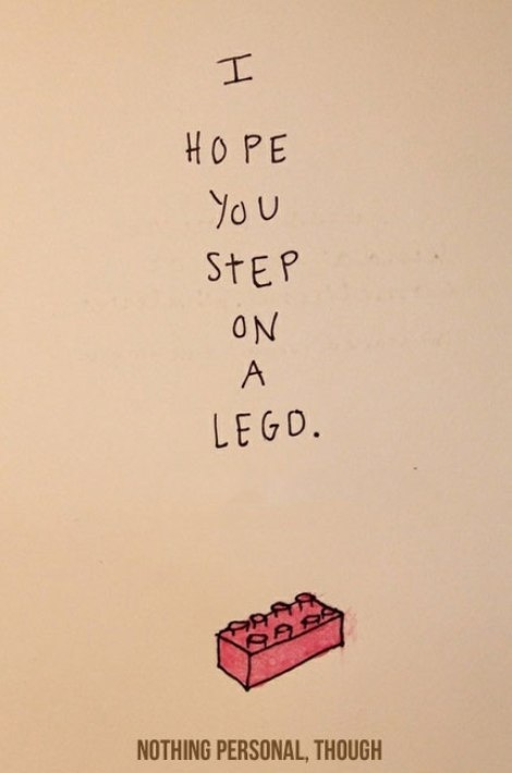 : Thoughts, Enemies, Mean People, It Hurts, Quote, Funny Commercial, So Funny, Lego, Kids Rooms