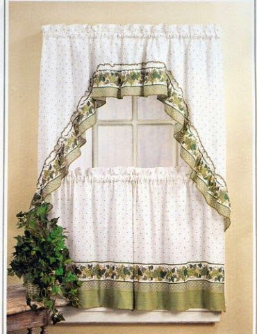 Kitchen Curtains 36 inch kitchen curtains : 17 Best images about Kitchen curtain on Pinterest | Chef kitchen ...