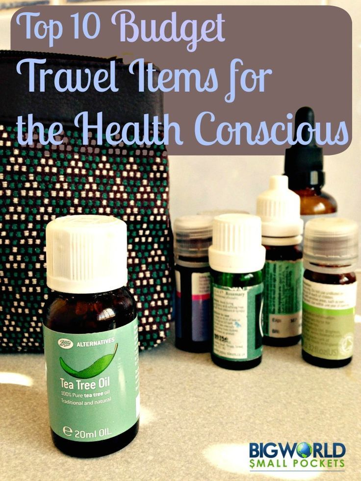 Top 10 Budget Travel Items for the Health Conscious {Big World Small Pockets}