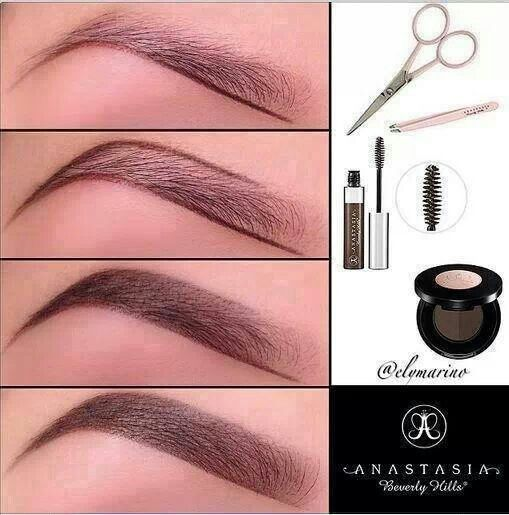 Eyebrows! Great before and after example