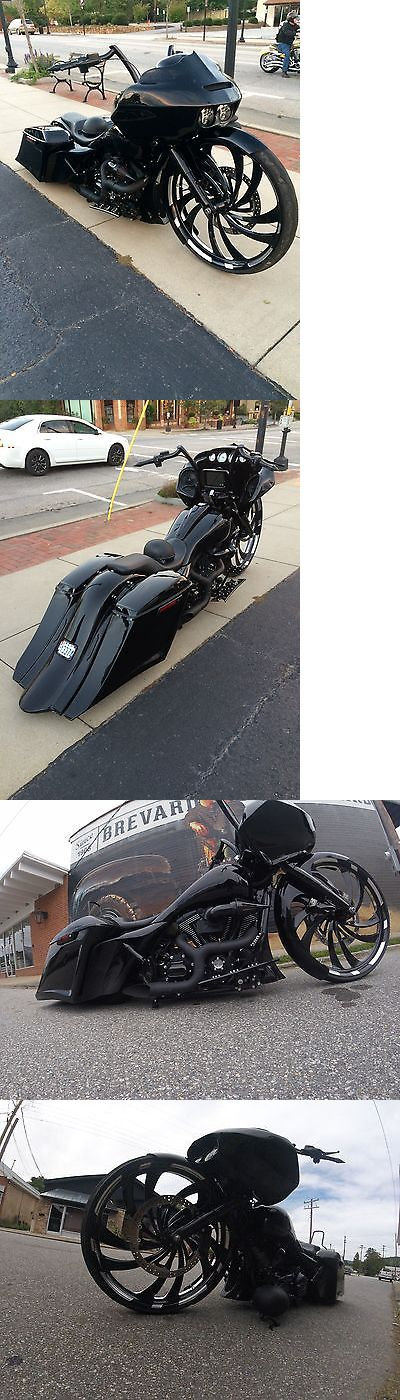 Motorcycles: 2014 Harley-Davidson Touring 32 Custom Bagger Harley Street Glide Big Wheel Stretched Air Ride Raked Tol -> BUY IT NOW ONLY: $44900.0 on eBay!