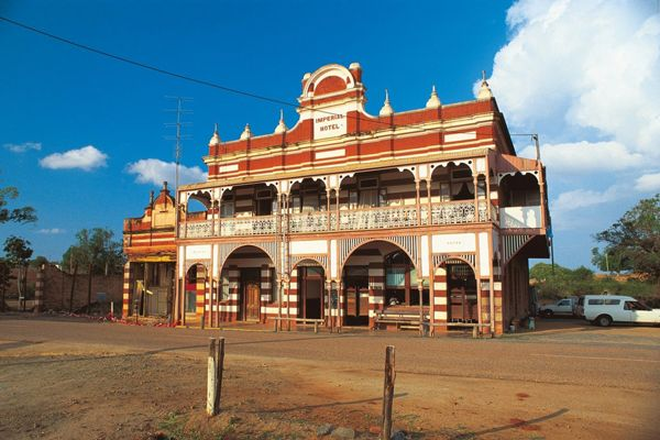 Imperial Hotel, Ravenswood Queensland a beautiful Edwardian building