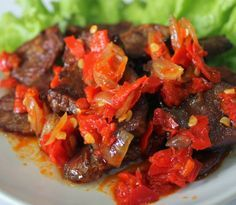Hot Indonesia Recipes - Dendeng Balado Padang