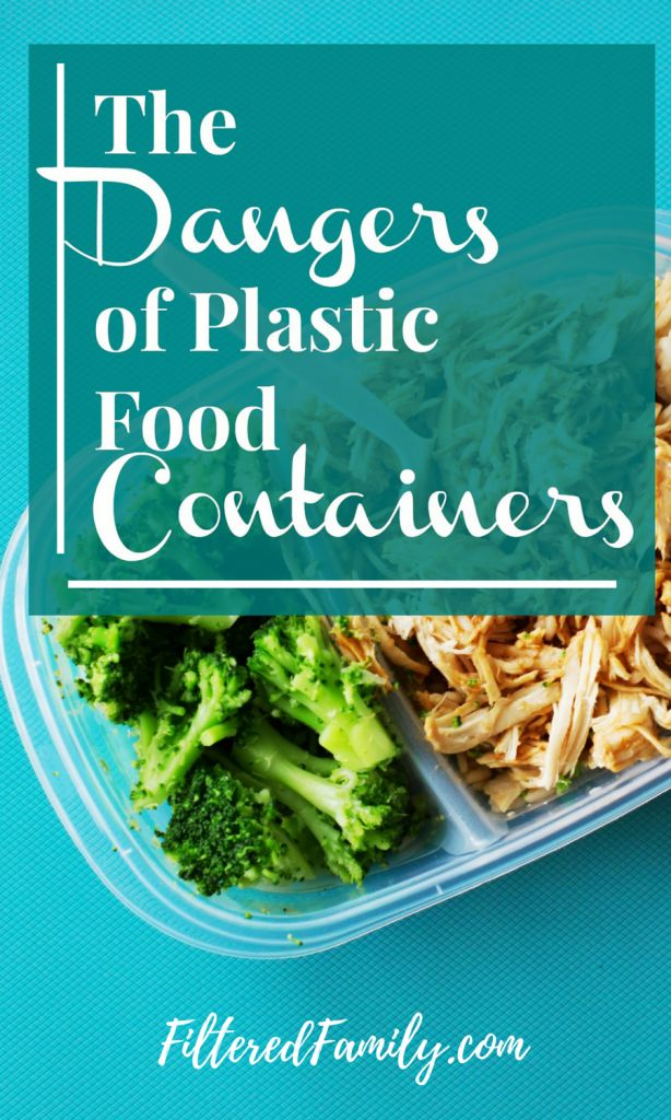 I can't believe I used these toxic food containers for so long without realizing how dangerous they are! Did you know BPA free doesn't mean much?! Even with BPA Free on the label there are still plenty of toxins leaching into your food! Eek! Click to read the rest. -- The Dangers of Plastic Food Containers   via FilteredFamily.com