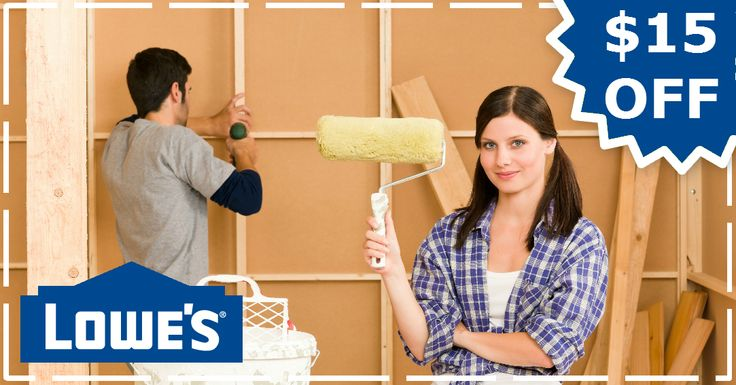 Extra $15 off at Lowes.com. Use coupon code here: http://www.dealsplus.com/lowes-coupons?code=2494549 #Lowes #coupons #DIY #HomeImprovement