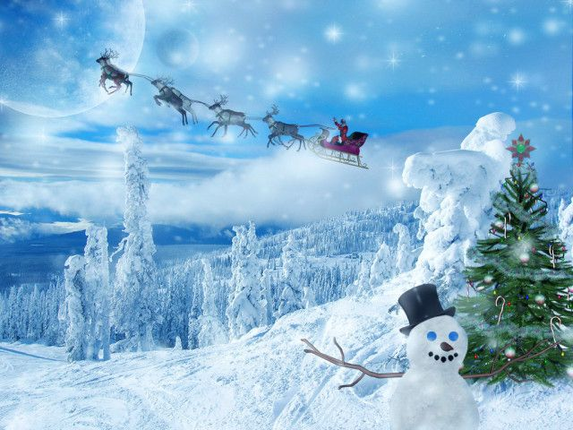 Download Christmas Desktop Wallpaper