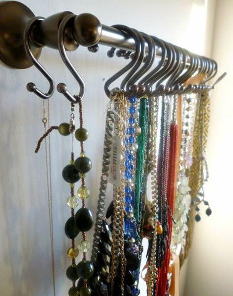 Mejores 8 imágenes de colgar collares en Pinterest | Colgar collares ...