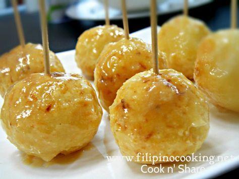 Carioca (Filipino Sweet rice balls)   Sweet tooth recipe ...