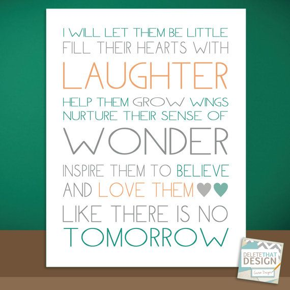 8.5 x 11 Teacher Quote i love this for my class