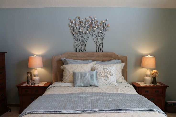 Calming Bedroom Color Schemes - Vintage Bedroom Decorating Ideas Check more at http://jeramylindley.com/calming-bedroom-color-schemes/