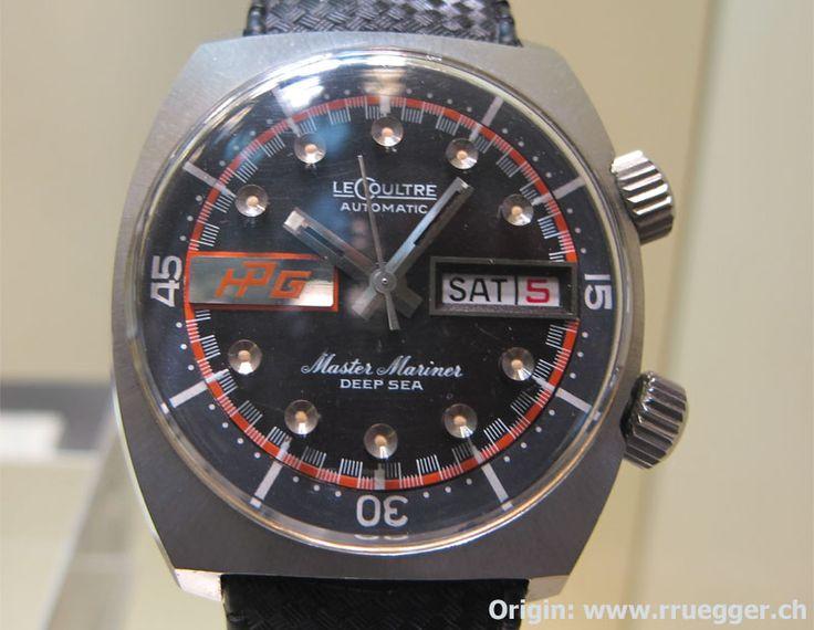 JLC: Master Mariner Deep Sea (ca. 1972) | Dive into Watches