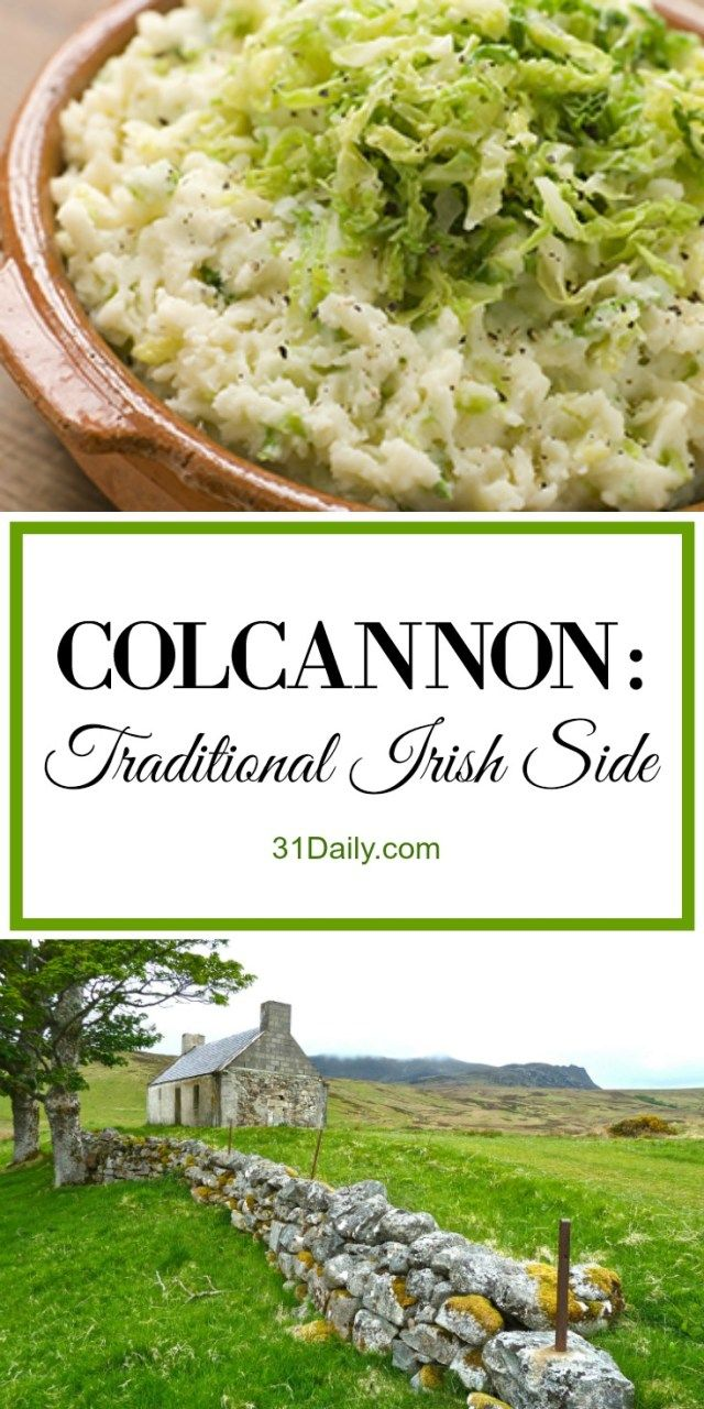 A traditional Irish mashed potato dish, Colcannon is a hearty yet comfort classic food in Ireland. Colcannon is a year-round staple side dish, although it also makes special appearances at holidays, including St. Patrick's Day, and most especially at Halloween where sneaky chefs conceal lucky charms or coins within its body. Traditionally Colcannon...