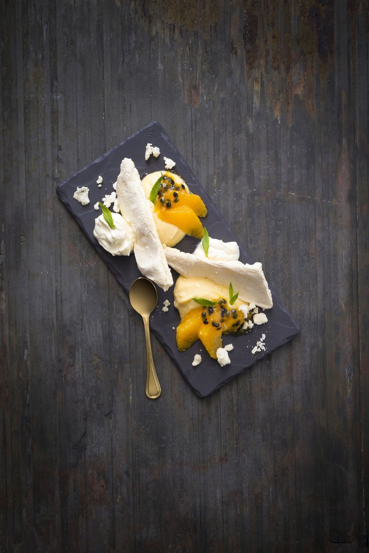 Orange and passionfruit Eton mess | Thermomix | Vegetarian Kitchen cookbook and recipe chip | p. 174 |