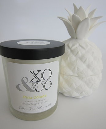 Pina Colada Hand poured natural soy candles www.xoandco.com.au