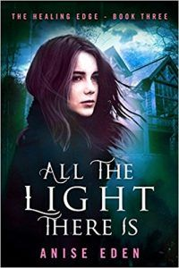 It is with great excitement that I share with you the cover and book description of the third and final installment in the award-winning Healing Edge paranormal romantic suspense series from Diversion Books! Presenting ALL THE LIGHT THERE IS, releasing on 9.12.17! Pre-order links: AniseEden.com/Books. Psychotherapist Cate Duncan is done with danger. Her whirlwind weeks of training at the MacGregor Group's parapsychology clinic, while exhilarating, have also brought one crisis [...]
