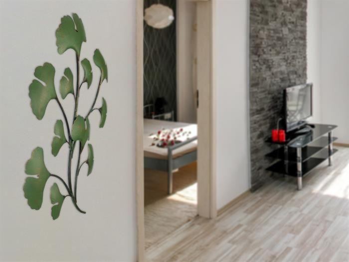 60 best Wanddeko für Wohnzimmer moderne Bilder und Formen aus Metall ...