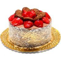 Tort dietetic Nucita cu ciocolata si fructe de padure: Indulceste-ti invitatii in cel mai sanatos mod servindu-le tortul dietetic Nucita – este atat de bun, incat nici nu iti vei da seama ca nu contine deloc zahar adaugat! Blatul cu nuca este foarte savuros, iar crema de ciocolata dietetica face deliciul tuturor invitatilor, de la cel mai mic la cel mai mare, in timp ce fructele de padure din compozitie adauga gust bun si multe vitamine.