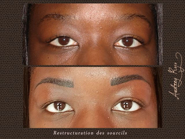 restructuration des sourcils peau noire maquillage permanent toulouse maquillage permanent des. Black Bedroom Furniture Sets. Home Design Ideas