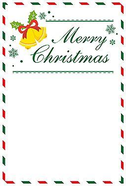 christmas letter クリスマス 2016  無料 イラスト スペースが十分にあるので、ちょっとした便箋にも使えるクリスマスカード。クリスマスベルのイラストや英字がシンプルだから、とても使いやすいと思います。