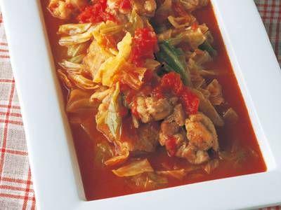 トマトとチキンの煮込み  Favorite Chicken Dish 春のベストレシピ    KNR 2014March