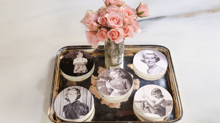 Personalize your wedding decorations with an easy-to-make photo craft