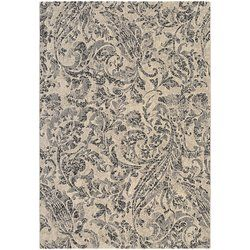 Showcasing a unique fusion of modern European influences with classic design elements the Ullin Ivory/Blue Area Rug offers a sophisticated fashion statement for today's transitional interiors. These plush area rugs instantly bring a sense of stylish comfort to any space and create a beautiful foundation for elegant living. Face-to-face Wilton woven of 100% heat-set courtron™ polypropylene, this ultra-fine synthetic yarn is both durable and lavishly soft. Adding even m...