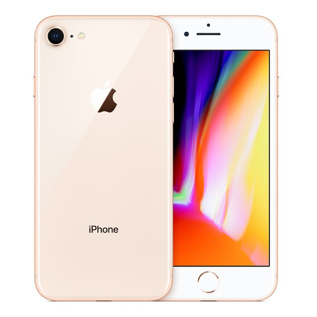 Apple Iphone 8 64 Gb Oro Movil Libre En 2020 Iphone 8 Boost