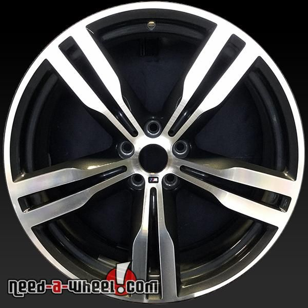 "2016 BMW 740i oem wheels for sale. 20"" Machined stock rims 86281 http://www.need-a-wheel.com/rim-shop/20-bmw-740i-oem-wheels-rims-machined-86281/ , #oemwheels, #factorywheels"