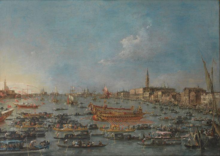 The Bucintoro Festival of Venice, 1727 - 1793 - Francesco Guardi
