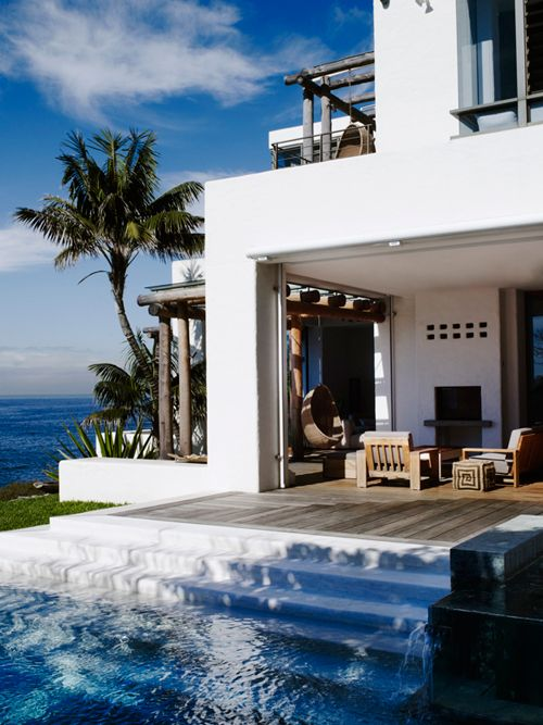 ♂ neutral interior design living room with organic life style life by the sea