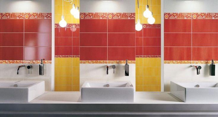 Galleria foto - Piastrelle colorate per bagni moderni Foto 24