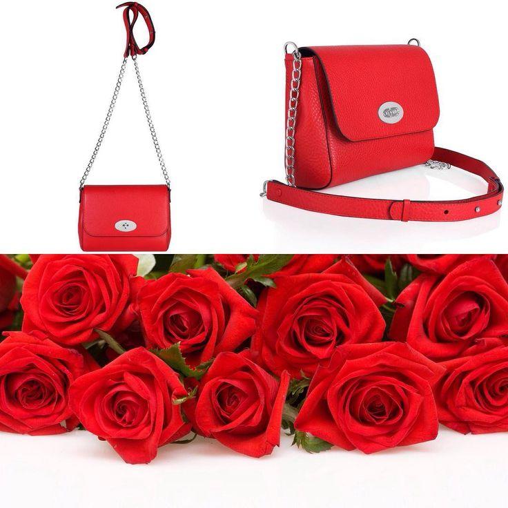 Маленькая красная сумочка Katerina Fox 100% натуральная кожа  Ждем Вас у нас в…