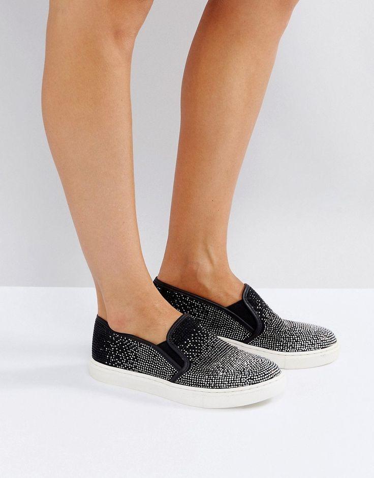 Carvela Slip On Sneaker - Black