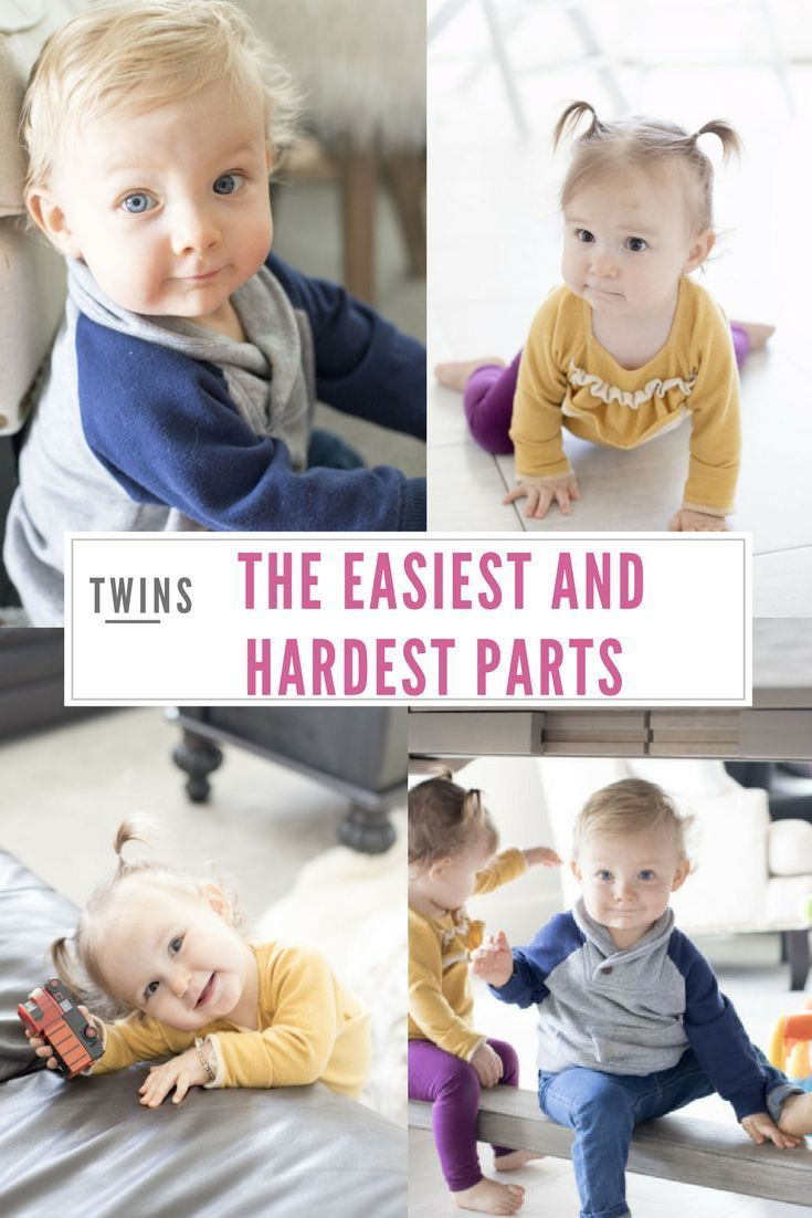 Twins: The Easiest and Hardest Parts about Having Twins