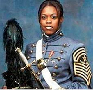 The first Black woman to serve as Corps Commander Sergeant Major at West Point. Perez graduated in the top 10 percent of her class, out-ran many men, directed a gospel choir and read the Bible every day. She also headed a weekly convoy as it rolled down treacherous roads,pocked with bombs and bulletsnear Najaf, Iraq. As platoon leader, she insisted on leading her troops from the front. Shortly before shipping out to Iraq with the 204 Support Battalion, 2nd Brigade, 4th Infantry Division…